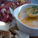 Soupe fromage et charcuterie à l'Adret de la Flégère