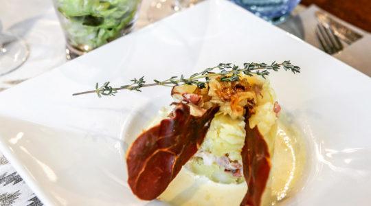 repas à l'aiguille du midi avec l'altibox degustation