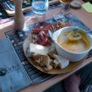 repas à l'adret de la flégère avec une Altibox degustation