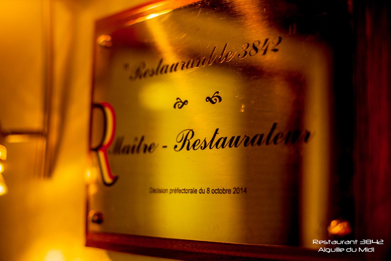 restaurant le 3842 maitre restaurateur