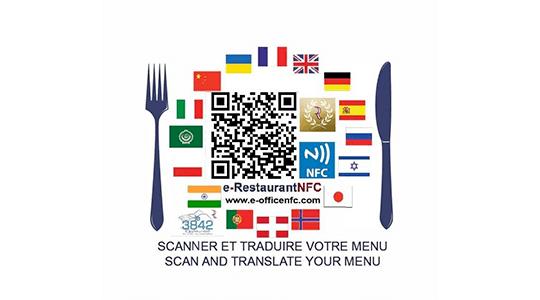 image de news menus traduits dans 45 langues